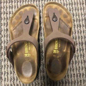 Size 38 Gizeh Birkenstock sandal
